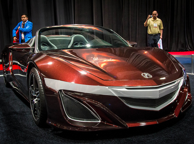 "Tony Stark Acura NSX Roadster Concept from ""The Avengers"