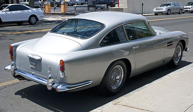 Aston Martin DB5 Rear View