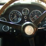 Aston Martin DB5 Steering Wheel and Dashboard