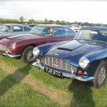 Aston Martin DB5 and Aston Martin DB4