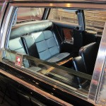 JFK Lincoln Continental Inside