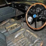 James Bond's Aston Martin DB5 Inside