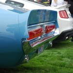 1967 Shelby GT500 Spoiler, Tail Lights