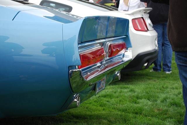 1967 Mustang Eleanor Tail Lights