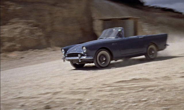 1961 Sunbeam Alpine Series II in Dr. No, 1961 Sunbeam Alpine Series II, Dr. No, Sunbeam Alpine, Dr No