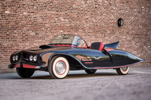 1956 Oldsmobile 88 Batmobile, the very first Batmobille