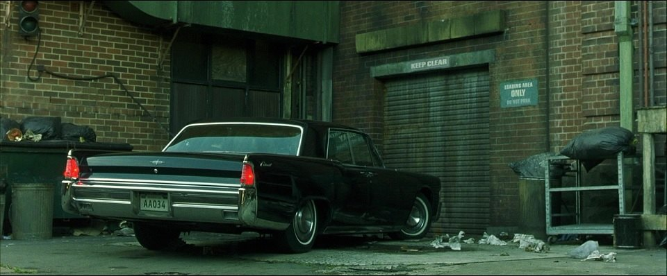 1965 Lincoln Continental, The Matrix 1999