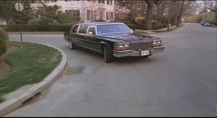 1987 Cadillac Brougham Stretched Limousine