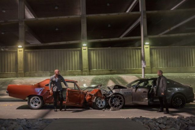 Smashed Cars, Furious 7