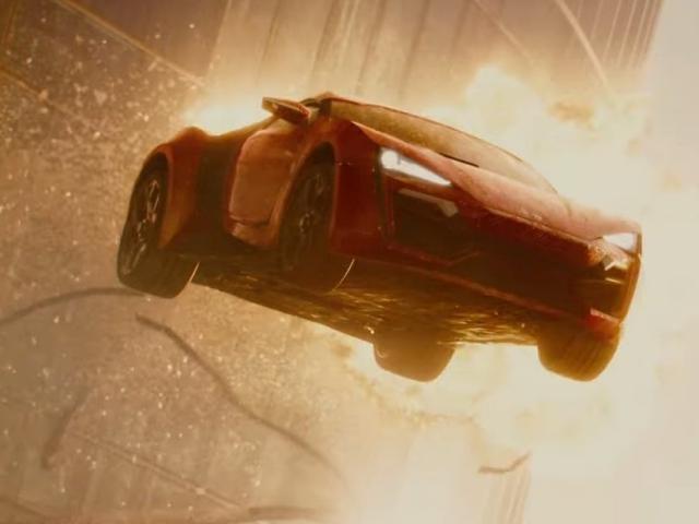 Lykan HyperSport Jump, Furious 7