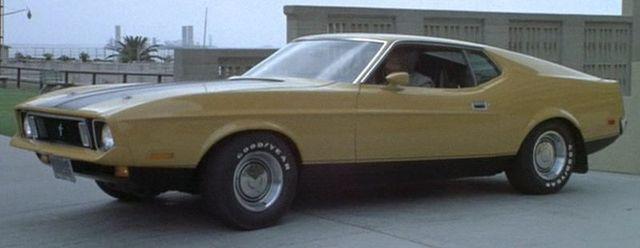 Original 1973 Ford Mustang Mach 1 Eleanor