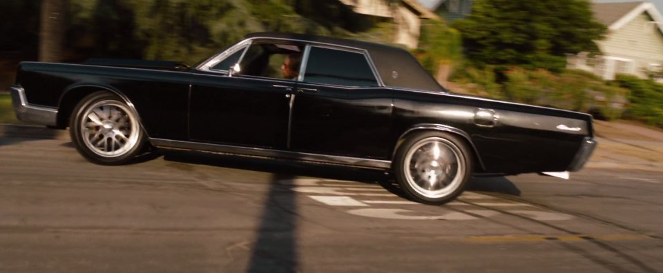 2012 Quot Hit And Run Quot 1967 Lincoln Continental Best Movie Cars