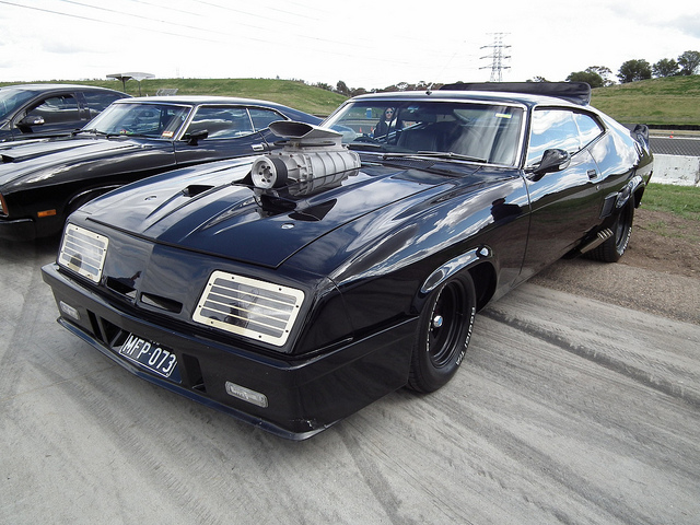1973 Ford Xb Falcon Gt Hardtop Mad Max Interceptor Replica Best Movie Cars