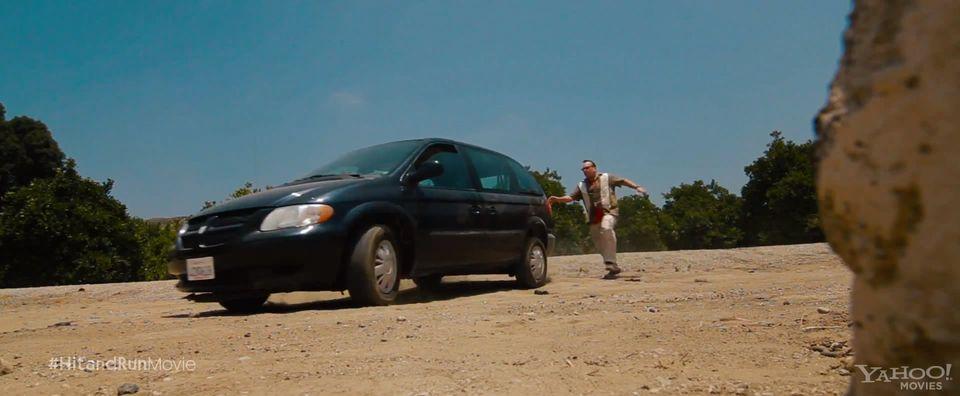 2002 Dodge Caravan, Hit and Run 2012