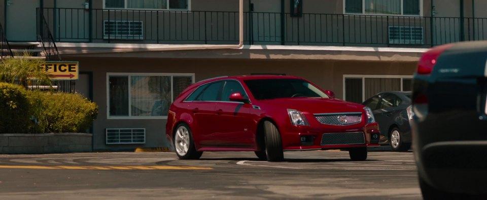 2012 Cadillac CTS V Sport Wagon, Hit and Run 2012