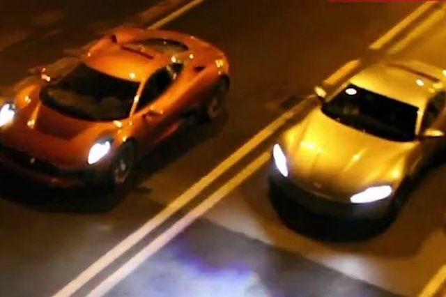 Car Chase Scene Ppectre
