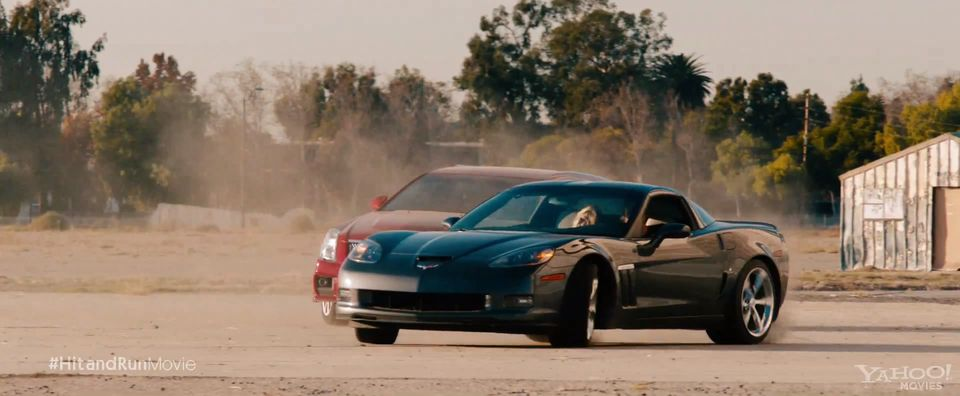 2010 Chevrolet Corvette C6, Hit and Run 2012