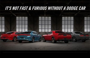 Its not Fast and Furious without a Dodge Car