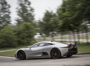 Jaguar C-X75 on the Track