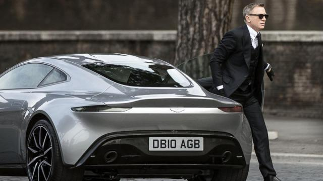 James Bonds Car, Spectre