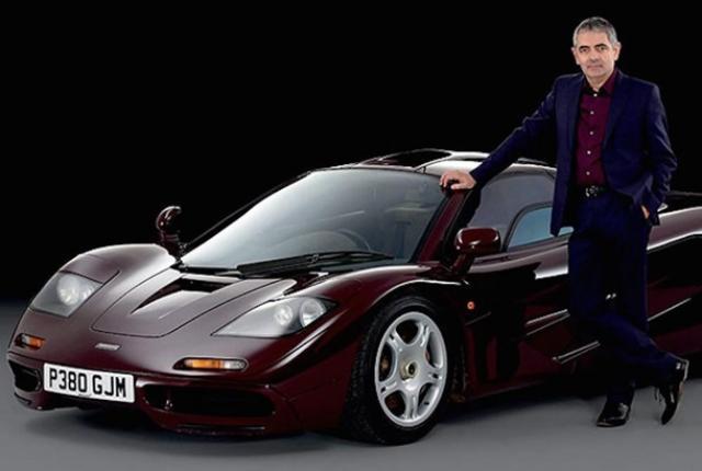Rowan Atkinson, McLaren F1
