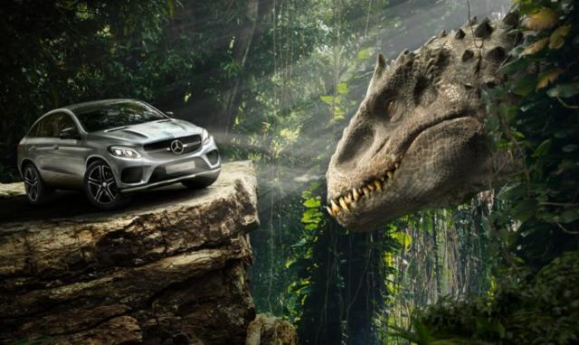 Mercedes-Benz GLE Coupe, Jurassic World