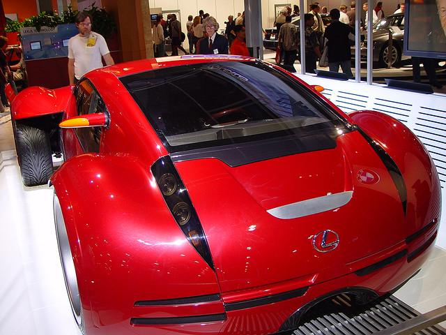 Lexus Concept Car From Minority Report Movie Best Movie Cars