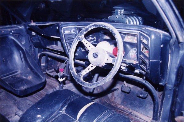Mad Max 2 V8 Interceptor, Interior
