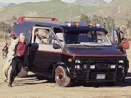 The A-Team 1983 GMC Van