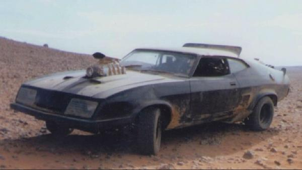 development of the v8 interceptor used in mad max 2 the road