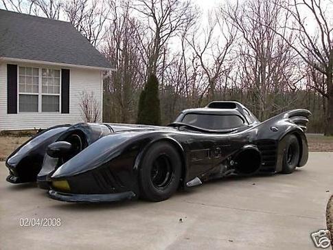 Tim Burtons Batmobile