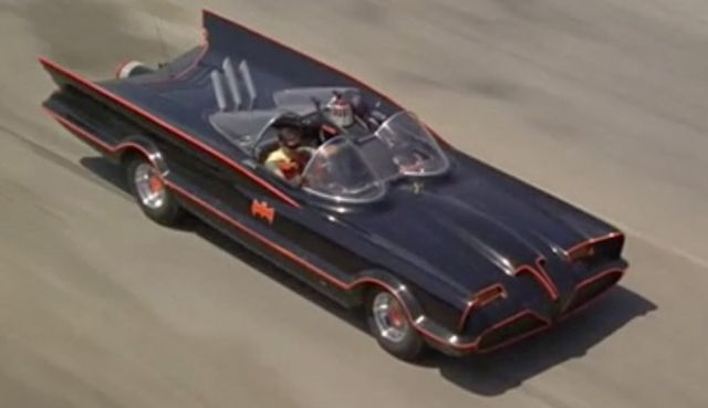 1960s Batman TV Series Lincoln Futura Batmobile