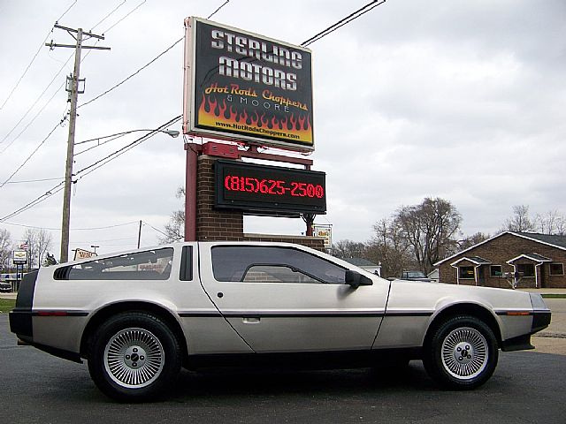 delorean dmc 12 gallery best movie cars. Black Bedroom Furniture Sets. Home Design Ideas