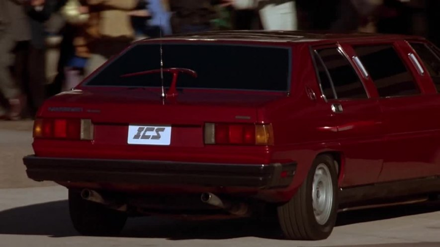 1987 Maserati Quattroporte AM330, The Running Man 1987