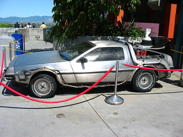 BTTF DeLorean DMC-12 - Best Movie Cars