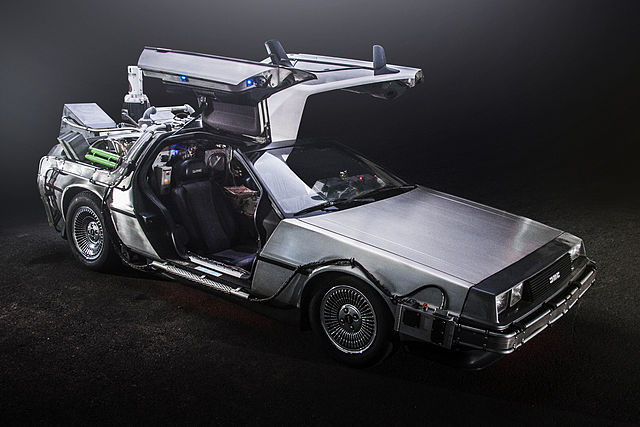 DeLorean Time Machine + BTTF