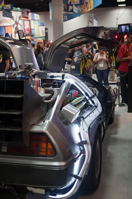 BTTF DeLorean, replica