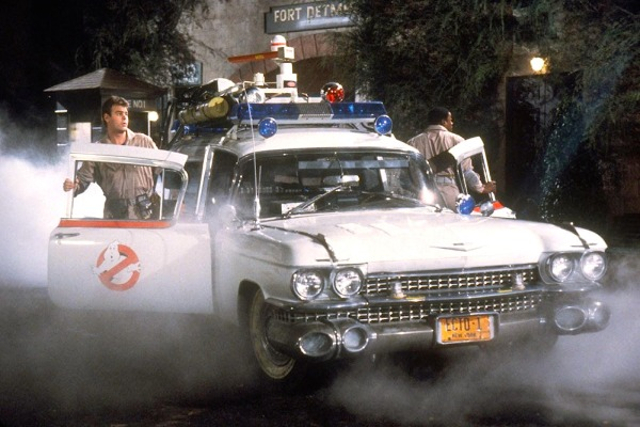 1985 Ghostbusters Cadillac Miller Meteor Ambulance, Ecto-1
