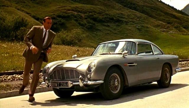 1964 Goldfinger, Aston Martin DB5