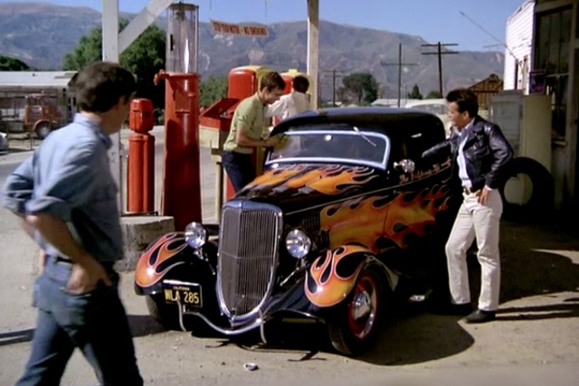 1934 Ford V8 Deluxe 3-window Coupe 40-720, The California Kid 1974