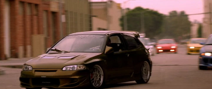 1992 Honda Civic EG, The Fast and Furious