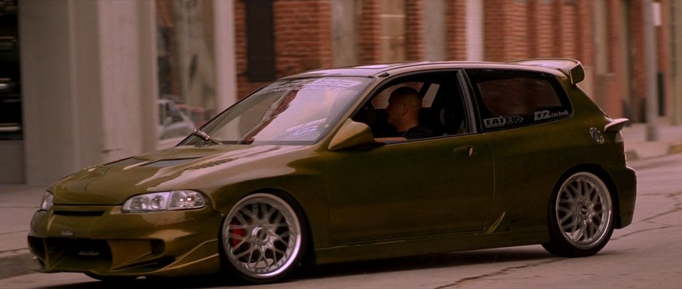 1992 Honda Civic EG, The Fast and Furious 2001