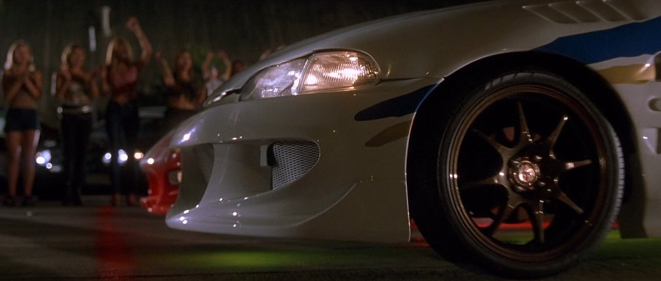 1993 Honda Civic Coupe EJ, The Fast and Furious 2001