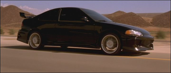 1993 Honda Civic Coupe EJ1, The Fast and the Furious 2001