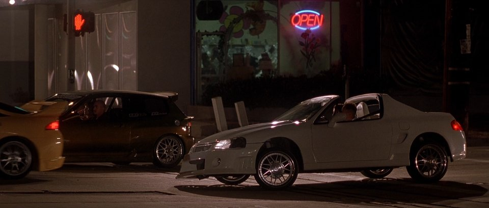 1993 Honda Civic del Sol, The Fast and the Furious 2001