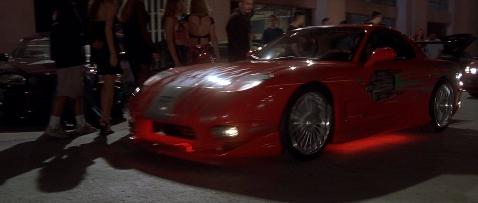 "2001 ""the fast and the furious""/ 1993 mazda rx-7 fd - best movie cars"