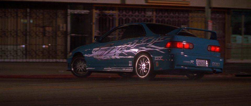 1994 Acura Integra DB8, The Fast and the Furious 2001