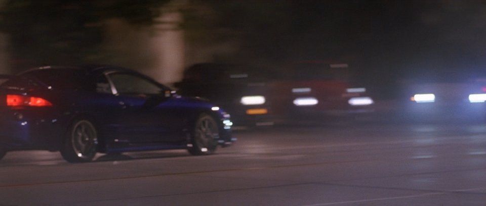 1995 Mitsubishi Eclipse, The Fast and the Furious