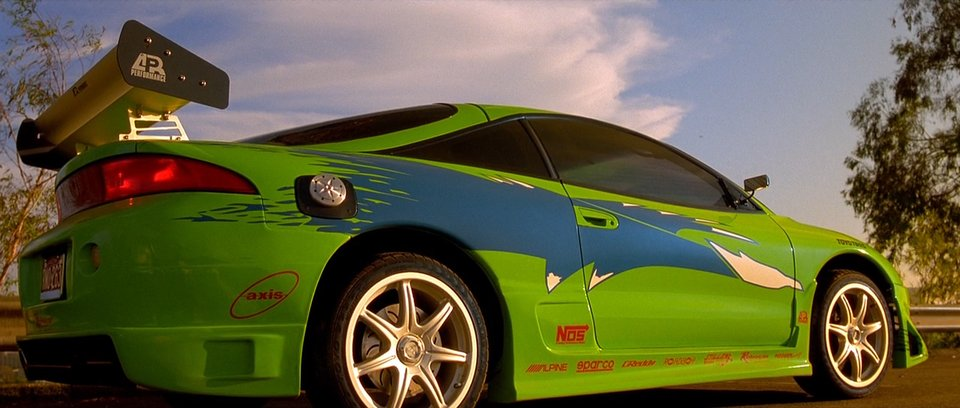1995 Mitsubishi Eclipse RS 2G, The fast and the Furious