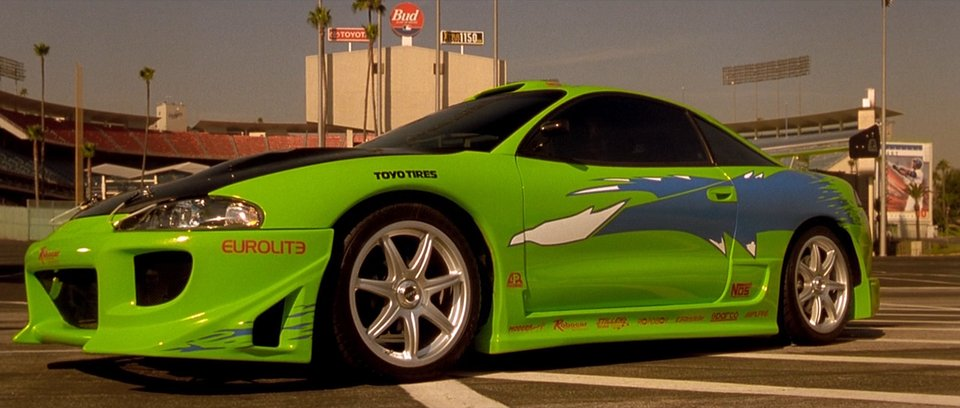 1995 Mitsubishi Eclipse RS 2G D31A, The Fast and the Furious 2001
